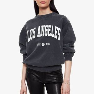 ANINE BING RAMONA SWEATSHIRT LOS ANGELES SIZE M